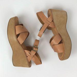 Kork-Ease | Ava Classic Tan Open-toed Wedge 7